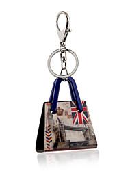 cheap -2016 New Arrival Keychain for Keys Acrylic London Big Ben Portachiavi Charms Key Chains Llaves Porte Clef Sleutelhanger