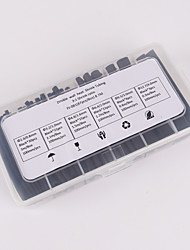 cheap -Iztoss 87pcs 100mm 3:1 ratio 6 Size Φ2.4-12.7 0.8mm-4.0mm Polyolefin Heat Shrink Tubing sleeve Cable Wrap Kit
