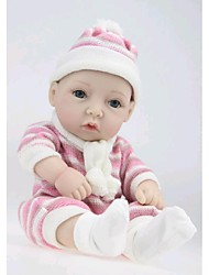 cheap -NPK DOLL Reborn Doll Baby Newborn lifelike Cute Hand Made Child Safe Full Body Silicone with Clothes and Accessories for Girls' Birthday and Festival Gifts / Non Toxic / Lovely / CE Certified / Kid's