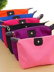 cheap -Travel Insert Portable Cosmetic Handbag Organiser Purse  Liner Tidy Makeup Travel Toiletries Bag(Random Colors)