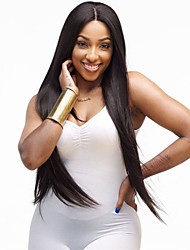 cheap -african black wig fashion female chemical fiber false head long straight hair