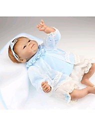 """cheap -NPK DOLL 18 inch Reborn Doll Baby Newborn lifelike Cute Hand Made Child Safe 18"""" with Clothes and Accessories for Girls' Birthday and Festival Gifts / Non Toxic / Lovely / CE Certified / Kid's"""