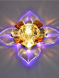 cheap -1-Light Crystal / LED Flush Mount Lights Crystal Modern Contemporary 220-240V