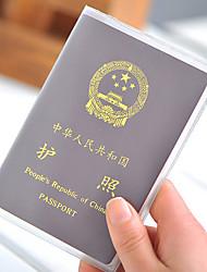 cheap -PVC Passport Holder & ID Holder Passport Cover Waterproof Portable Dust Proof Travel Storage Ultra Light(UL)