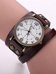 cheap -Xu™ Women's Wrist Watch Quartz Leather Black / White / Blue Hot Sale Analog Ladies Charm Fashion - Red Green Blue One Year Battery Life / SSUO LR626