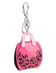 cheap -2016 Rose Color Key Chain Jewelry Purse Handbag Car Keychain Bag Women Charm Holder Key Ring
