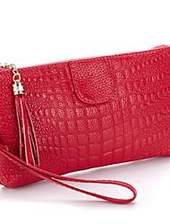 Недорогие -Фиолетовый / Красный / Черный / Вино - Клатч / Вечерняя сумочка / Кошелек для монет / Сумочка-ристлет / Мобильный телефон сумка -Для