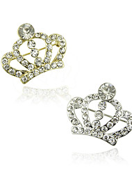 cheap -Women's Fashion Crystal Rhinestone Brooch Jewelry Golden Silver For Wedding Party Daily