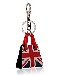 cheap -British Style England Flag Acrylic Bag Shape Keychain Best Gift for Girlfriend Women Favorite