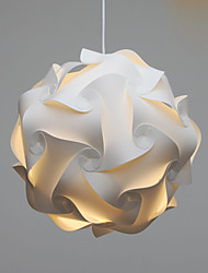 cheap -Pendant Light Ambient Light PVC Crystal, LED 220-240V / E26 / E27
