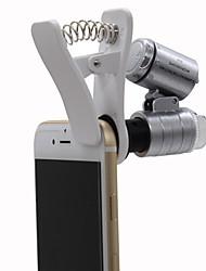 Недорогие -Общий 60x Монокль Лупы Микроскоп пластик
