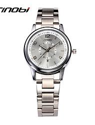 cheap -SINOBI Women's Wrist Watch Analog Quartz Ladies Water Resistant / Waterproof Calendar / date / day / Two Years