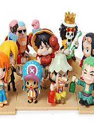 cheap -One Piece Q Version 2 Years Later Anime Action Figure Model Toys Set
