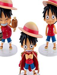 Недорогие -Аниме Фигурки Вдохновлен One Piece Monkey D. Luffy См Модель игрушки игрушки куклы Муж.