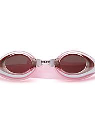 Недорогие -плавательные очки Водонепроницаемость Противо-туманное покрытие Регулируемый размер УФ-защита Поляризованные линзы Зеркальный Для силикагель Поликарбонат розовый черный синий розовый черный синий