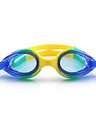 cheap -Swimming Goggles Waterproof Anti-Fog Adjustable Size Anti-UV One Size Silica Gel PC Blues Light Green Light Blue Transparent