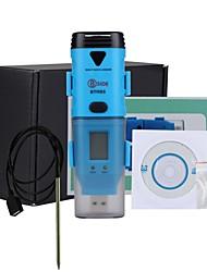 Недорогие -bside bth05 водонепроницаемый три канала регистратор точки росы температура влажность данных с интерфейсом USB и ЖК-дисплеем