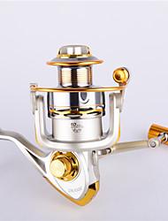 cheap -Spinning Reel 4.9:1 Gear Ratio+11 Ball Bearings Hand Orientation Exchangable Sea Fishing / Spinning / Freshwater Fishing - FC6000 / General Fishing