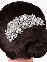 cheap -Alloy Hair Combs with 1 Wedding / Special Occasion Headpiece