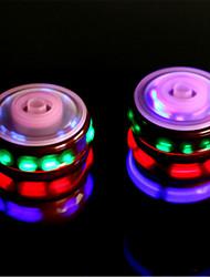 cheap -Wood /Flash Gyro  Colorful Music Light