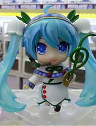 cheap -Hatsune Miku Q Version Doll Toys Garage Kit Anime Action Figures Model Toy