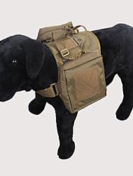 Недорогие -Лето - Мода - Черный / Зеленый / Желтый / Защитный цвет - Рюкзак - для Собаки - Нейлон - M / L