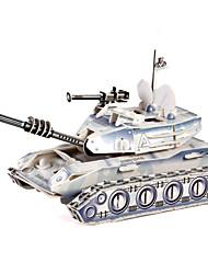 Недорогие -Танк 3D пазлы Деревянные пазлы Бумажная модель Деревянные игрушки Бумага Детские Взрослые Игрушки Подарок
