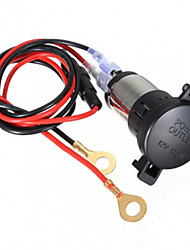 cheap -12V 120W Car Motorcycle Power Socket 60cm Cord