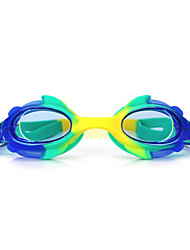 cheap -Swimming Goggles Waterproof Anti-Fog Adjustable Size One Size Silica Gel PC Pink Blues Dark Blue Transparent