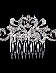 Недорогие -новые расчески корейский жемчуг алмаз невесты головной убор Продажа ювелирных изделий