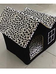 Недорогие -Кровати Животные Коврики и подушки Компактность Черный Котон