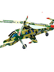 cheap -Plane / Aircraft 3D Puzzle Wooden Puzzle Paper Model Wooden Model Paper Kid's Adults' Toy Gift