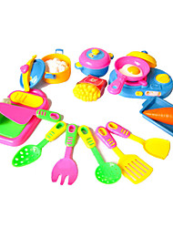 cheap -11pcs Cooking Pretend Play Toys DIY Toys Set