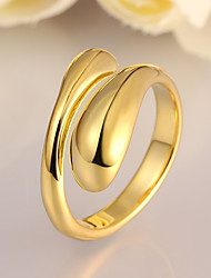 cheap -Gold Brass Gold Plated Personalized Party Work Jewelry Cute