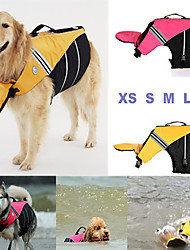 cheap -Dog Rain Coat Waterproof Keep Warm Fashion Outdoor Dog Clothes Yellow Rose Costume Terylene XS S M L XL