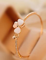 cheap -Women's Moonstone Cuff Bracelet Ladies Classic Romantic Rhinestone Bracelet Jewelry For Daily Casual