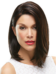 cheap -Synthetic Wig Straight Straight Wig Medium Length Brown Synthetic Hair Women's Brown