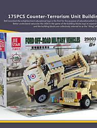 cheap -175PCS Counter-terrorism Building Blocks Soldiers Army Ww2 War Military Weapons Toy Plastic Model Building Blocks