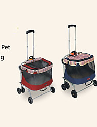 cheap -Petstro® Mixed Material/ Portable/Safe Stroller Cart Car Carrier For Dogs / Cats