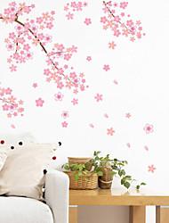 cheap -Landscape Romance Fashion Shapes Florals Transportation Fantasy Botanical Cartoon Holiday Wall Stickers Plane Wall Stickers Decorative