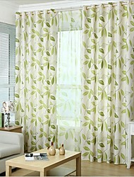 cheap -Custom Made Eco-friendly Curtains Drapes Two Panels / Bedroom