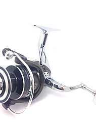 cheap -Spinning Reel 4.9:1 Gear Ratio+12 Ball Bearings Hand Orientation Exchangable Sea Fishing / Bait Casting / Ice Fishing - BM6000 / Freshwater Fishing / Carp Fishing / Bass Fishing / Lure Fishing