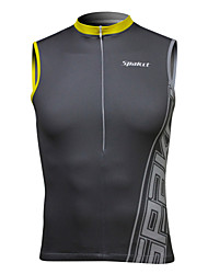 cheap -SPAKCT Men's Sleeveless Cycling Vest Black Bike Vest / Gilet Jersey Breathable Quick Dry Sports Spandex Classic Clothing Apparel / Stretchy