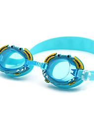 cheap -Swimming Goggles Anti-Fog Silica Gel PC Pink Blues Oranges Pink Blue Orange