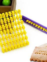 Недорогие -английский алфавит формы инструменты бисквит формы толкатель пасты сахара ремесло украшения выпекание украшения торта