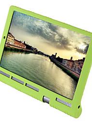 Недорогие -Кейс для Назначение Lenovo Ленова Йога Tab 3 Pro Кейс на заднюю панель Однотонный Мягкий Силикон