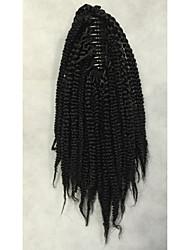 cheap -Ponytails Synthetic Hair Hair Piece Hair Extension Wavy Medium Length