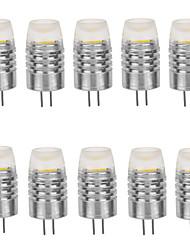 cheap -LED Corn Lights 160-190 lm G4 T 1 LED Beads COB Decorative Warm White Cold White 12 V / 10 pcs / RoHS