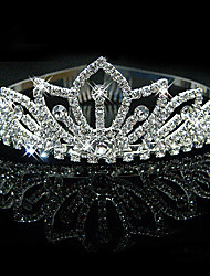 cheap -Bridal Wedding Princess Pageant Prom Crystal Tiara Crown Headband