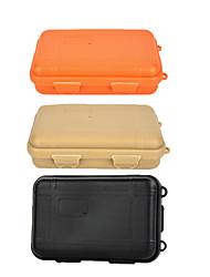cheap -Storage Box Waterproof Shockproof Removable Survival Convenient Nylon Hiking Camping Outdoor Indoor Travel Black Orange Khaki 1 pcs